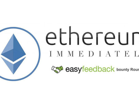 Get Ethereum Immediately: Join EasyFeedback Bounty Round 1