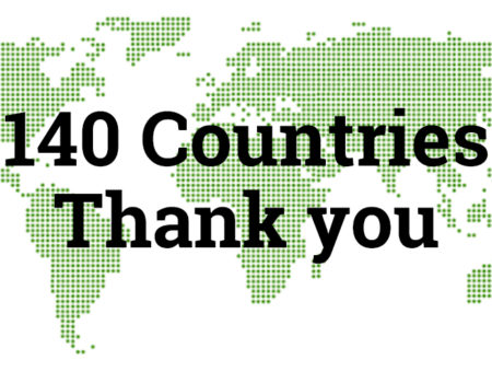People from 140 countries have signed up for the whitelist. Thank you