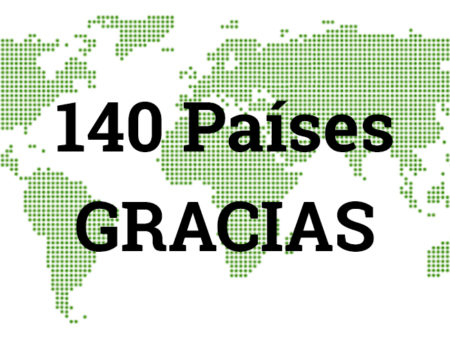 Personas de 140 países se han inscrito a la whitelist. Gracias