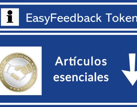 Artículos Imprescindibles de EasyFeedback Token