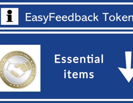 Essential Items of EasyFeedback Token
