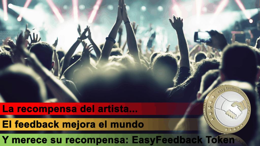 EasyFeedback Token EASYF La Recompensa del Artista