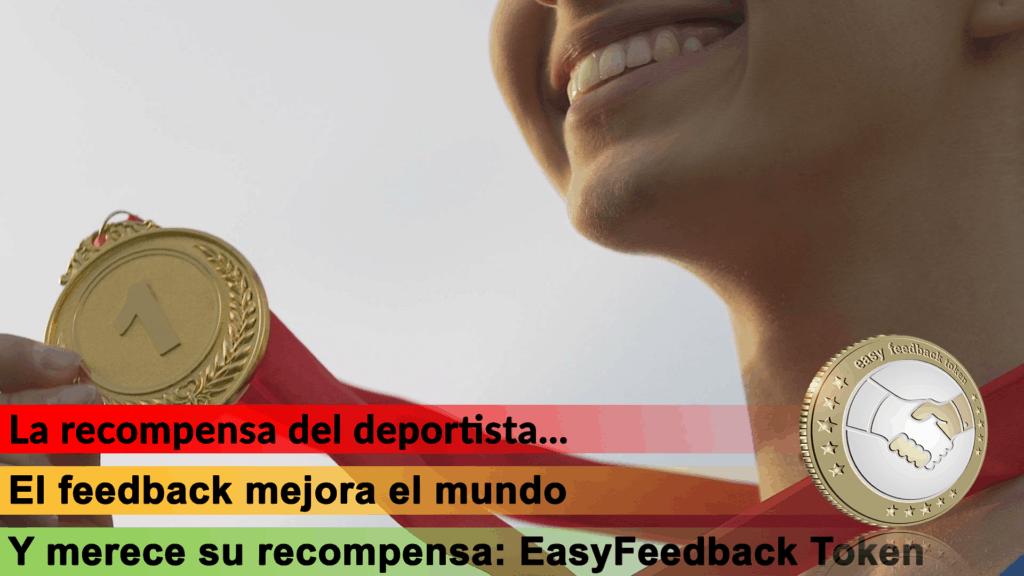 EasyFeedback Token EASYF La Recompensa del Deportista