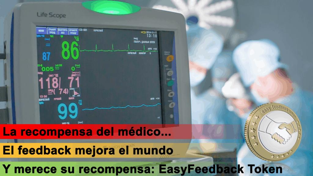 EasyFeedback Token EASYF La Recompensa del Médico
