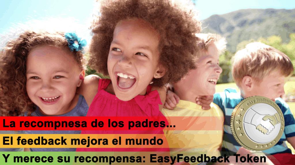 EasyFeedback Token EASYF La Recompensa de losPadres
