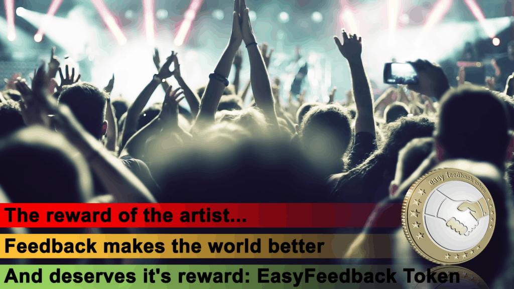 EasyFeedback Token EFT The Artist Reward