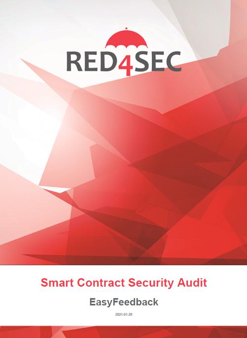 La imagen es la portada de Red4Sec Smart Contract