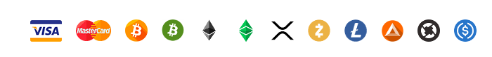 Imagen de las monedas que se aceptan en la venta del token EasyFeedback