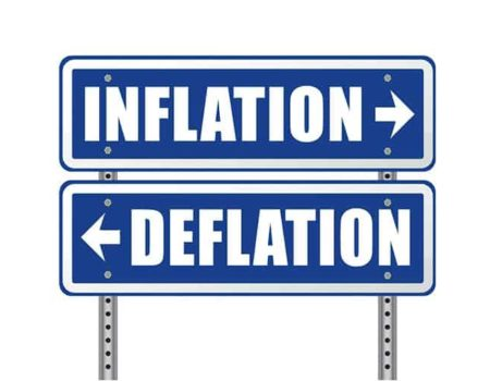What is deflation in the EasyFeedback token?